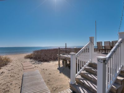 Photo for Waterfront home on a beautiful sandy beach