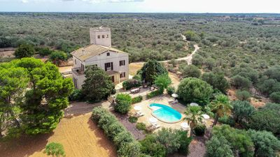 Photo for Granada - Magnificent former mansion with pool near Llucmajor