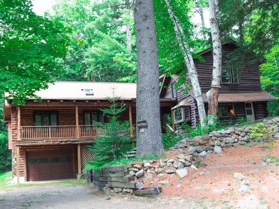 Photo for Large and lovely mountain cabin near North Conway
