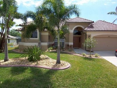 Photo for Villa Aurora - SE Cape Coral Intersection Fresh Water Canal, Luxury Pool Home, Contemporary Furnishe