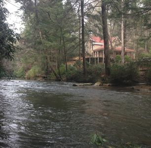 Photo for Private Pristine Soque River Forest Home, Fish, Swim, Relax, Recharge.