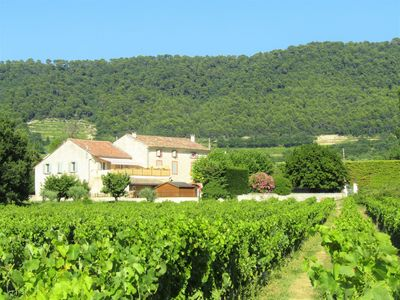 Photo for GÎTE A SABLET 4 people IN THE HEART OF VINEYARDS PANORAMIC VIEW (terrace 50m2)