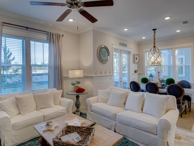 Photo for Beautiful WaterSound-Prominence home across from HUB30A Free Golf Cart!