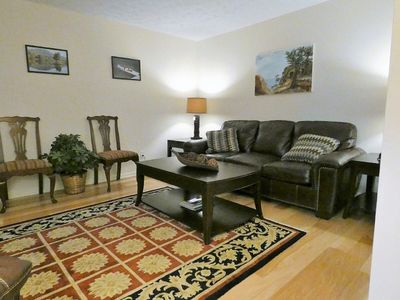 Photo for Mountain getaway,  Comfortably sleeps 6, 4 BR, sleeps 6, hot tub