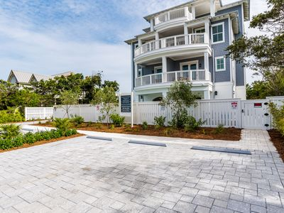 Photo for Cancellation Special! Amazing New Beach House!  Private 50' Pool!  Sleeps 20!