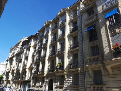Photo for Apartment and terrace in the heart of Nice Belle Epoque for your holidays