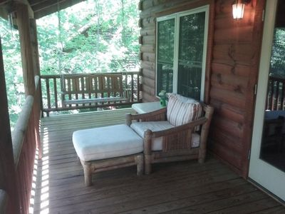 Photo for Lakefront Mountain Cabin in the Lake Lure, North Carolina, Blue Ridge Area
