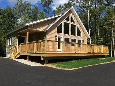 Photo for BRAND NEW 5* home close to hiking, biking, kayaking, StoryLand, outlet shopping