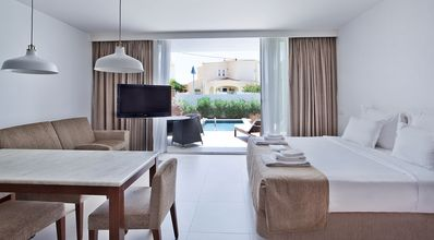 Photo for Premium Studio + Outdoor Pool | Only a Short Walk from the Beach