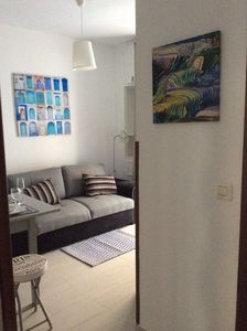 Photo for bright and quiet apartment close to the beach