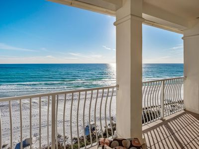 Photo for Gulf Front Condo with Gulf Views Beachfront Pool!