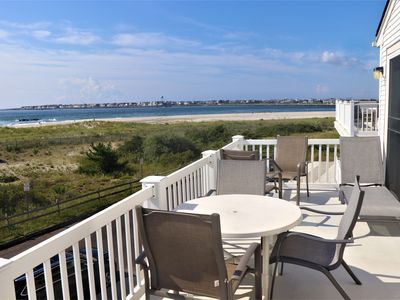Photo for Beachfront with Inlet and Avalon Skyline Views! Clean, Comfortable & Convenient!