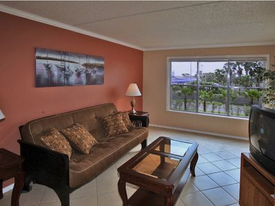 Photo for Gulfview II 211 - Beautifully Decorated Condo, Clubhouse, Large Pool, Tennis Courts, 2 Hot Tubs, Short Walk to the Beach