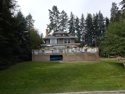 Photo for Beautiful Historic Home on Flathead Lake