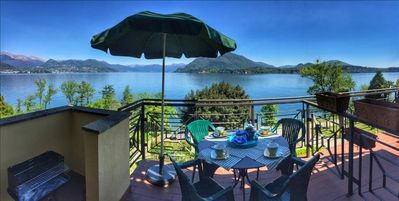 Photo for Ferdy in a panoramic position near Stresa