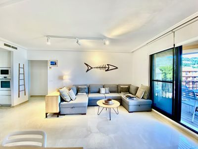 Photo for Luxury apartment with great sea views of Javea bay close to services and beaches