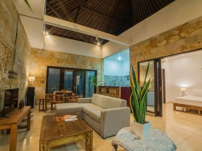 Photo for A Cozy 2 Bedroom Villa in A Quiet Lane Seminyak, Near Sunset Road