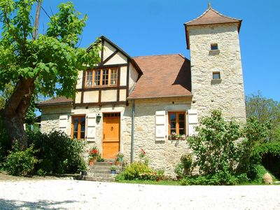 Photo for Beautiful 18th Century Farmhouse in the Dordogne,sleeps 2, 4 or 8,with pool