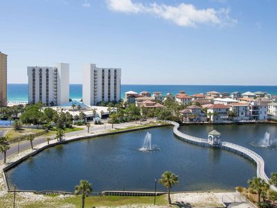 Photo for T-806  Beautiful 2 Bedroom with Lake View & Overlooking the City of Destin