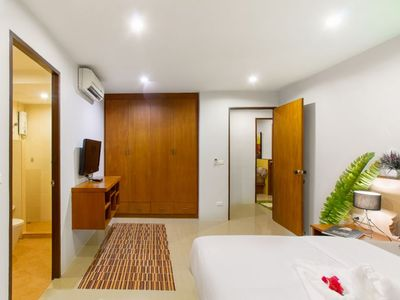 Photo for Two-storey townhouse with two bedrooms, 15 minutes walk to the Karon Beach