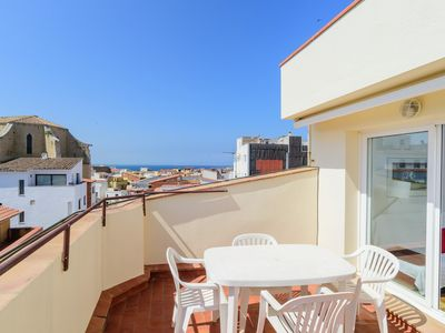 Photo for Costabravaforrent Masferrer 7 apartment for 4, 300m from the beach