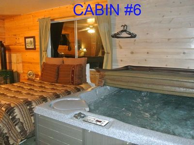 Photo for CABIN #6 -SWEETHEART'S COTTAGE (JACUZZI & FIREPLACE)