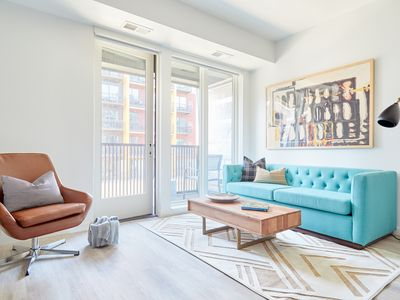 Photo for Sonder | SECOND + SECOND | Eclectic 1BR + Balcony