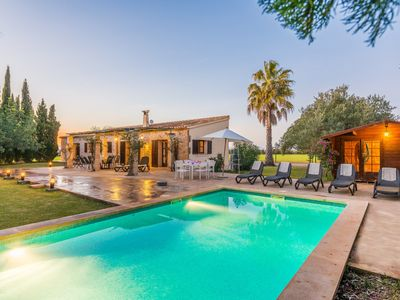Photo for ES GERROVER - Villa with private pool in FELANITX.