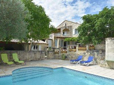 Photo for Luxury Mas with two guest houses and private pool with stunning views