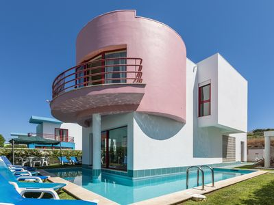 Photo for Villa with private pool, garden, terrace and sea views