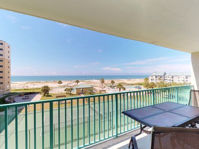 Photo for NEW LISTING! Comfy, waterfront condo w/shared pool & hot tub-near beach & dining