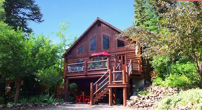 Photo for Beautiful Log Home - Close to Downtown Ouray -  Great Deck