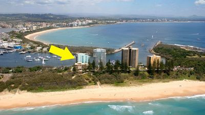 Uniquely situated, with surf beaches and calm riverside beaches only steps away!