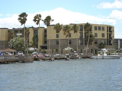Harbor Club from the Banana River