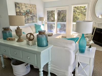 Photo for Corolla Home Yards Away From Pristine Beaches, Steps From Currituck Sound