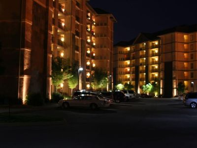 Complex at night