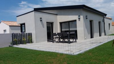 Photo for Architect house with SPA 300 meters from the beach in ST GILLES CROIX DE VIE