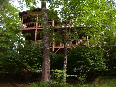 Photo for Bear Claw Hollow. Elegant Spacious Cabin
