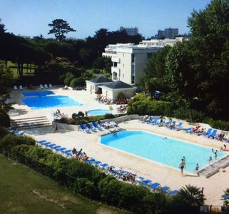 Photo for La Baule 2 apts independent, private domain, sr park, 2 pools