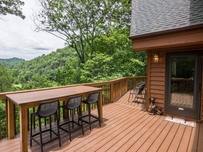 Photo for Watauga Lookout - Foose Ball, Fire Pit, 11.5 Acres - River Nearby