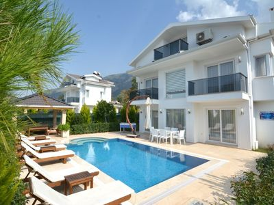 Photo for luxury 3 bedroom city villas in oludeniz for rent with private pool and garden