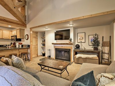 Photo for Keystone Condo w/ Views, 1-Mile Shuttle to Slopes!
