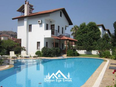 Photo for In 1000m² Garden Private Twin Villa • Villa Meltem for 14 people