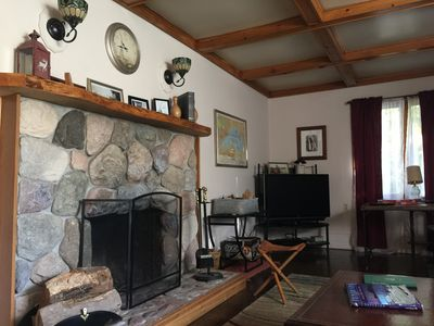 Photo for Big Bay Michigan-Centrally located - Cozy fireplace and sauna
