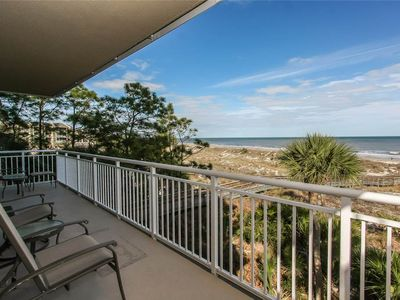 Photo for 6209 Hampton Place | Wrap-Around Balcony w/ Ocean Views | Corner Unit | Free Tennis | Complex Pool