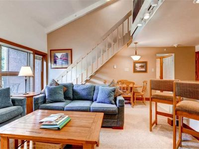 Photo for Vail Mountain View Ski-in/Ski-out, One Bedroom + Loft Condo, Hot tub, Pool