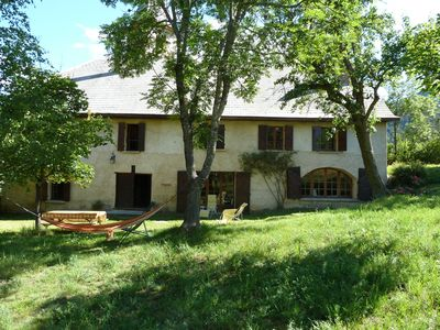 Photo for Charming farmhouse 5 min away from Praloup and Barcelonnette, large living room