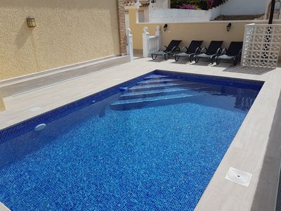 Photo for TOP Private pool house for 5 people, WIFI