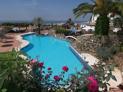 Photo for Townhouse in Capistrano Village, Nerja, with 2 bedrooms & 2 bathrooms