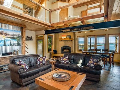 Photo for Lakewood Lodge: Timber-Beamed Waterfront Home with Dock, Boat Lift & Paddle Boards!
